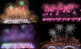 豪快な花火と職人技が楽しめて多くの感動が味わえる「赤川花火大会」を見てきました