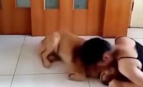 犬のまっすぐな忠誠心に感涙。セラピードッグのトレーニング風景
