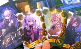 美少女5人で学校をサボる不良学生と密告しまくり優等生が熱い戦いを繰り広げるカードゲーム「Eresia」