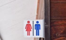 トイレの中が丸見え、スケスケの公衆トイレが話題に