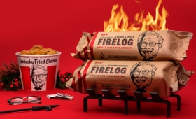 ああ幻想のフライドチキン。KFCが燃やすとフライドチキンの香りが広がる薪を今年も販売(アメリカ)