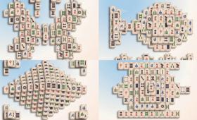 麻雀牌のペアを消していく「四川省」をより立体的かつさまざまな配置でプレイできる「Jongmah」