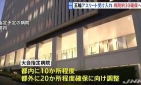 日本政府「五輪選手や大会関係者がコロナに感染した場合、優先で入院できます!専用の医者も用意します。安心して」
