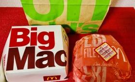 マクドナルドのビッグマック、実は箱ではなく包み紙でもオーダー出来るようなので試してみた